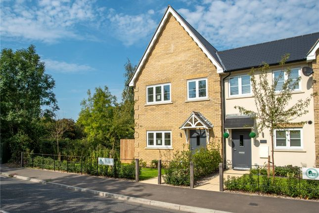 Thumbnail End terrace house for sale in Coxtie Green Road, Pilgrims Hatch, Brentwood, Essex