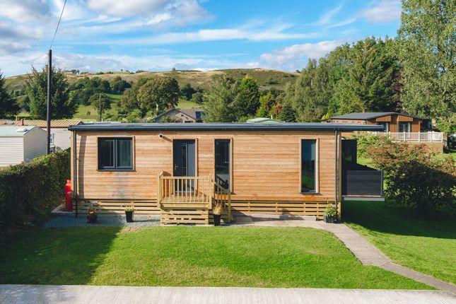 Thumbnail Lodge for sale in Twin Rivers, Foel Welshpool