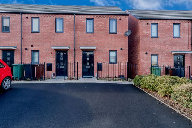Thumbnail End terrace house to rent in Donington Grove, Wolverhampton