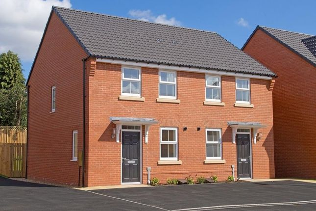 "Thumbnail End terrace house for sale in ""Winton"" at Lightfoot Lane, Fulwood, Preston"