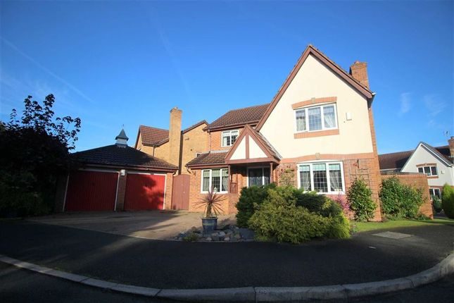 Thumbnail Detached house for sale in Coleridge Close, Cottam, Preston