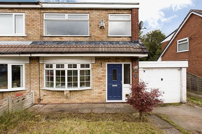 Thumbnail Semi-detached house for sale in Glemsford Close, Wigan