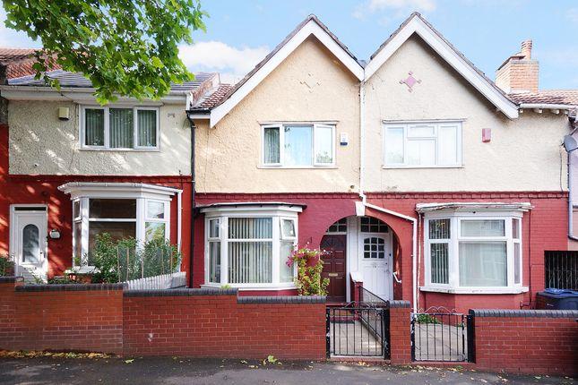 Thumbnail Terraced house for sale in Regent Road, Handsworth, Birmingham