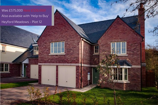Thumbnail Detached house for sale in The Falcon, Heyford Meadows, Hankelow