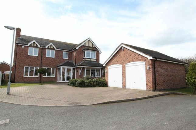 Thumbnail Detached house for sale in Hampton Court, Newcastle