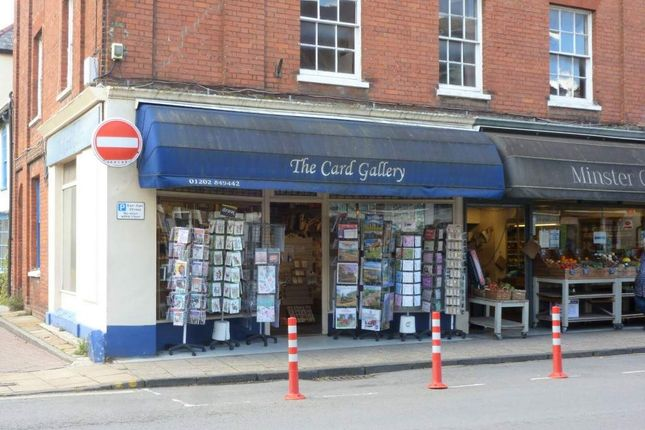 Thumbnail Retail premises to let in Wimborne, Dorset