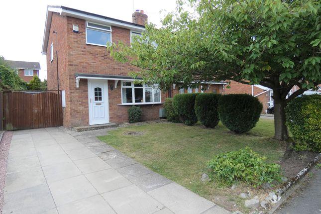 Thumbnail Semi-detached house to rent in Portland Grove, Haslington, Crewe