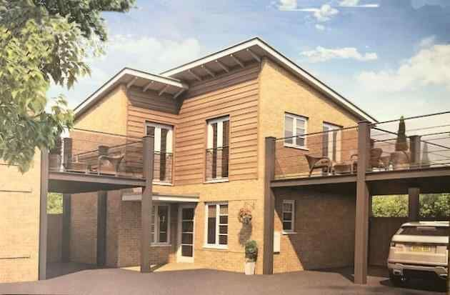 Thumbnail Link-detached house for sale in Main Road, Barleythorpe, Oakham