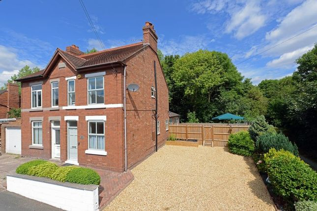 Thumbnail Semi-detached house for sale in Hilltop Road, Oakengates, Telford, Shropshire.