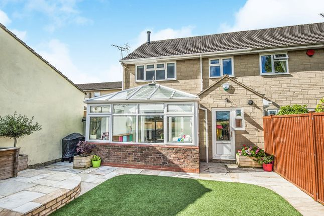 Thumbnail Semi-detached house for sale in High Street, Kempsford, Fairford