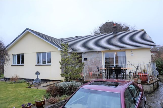Thumbnail Detached bungalow for sale in Carn Brea Lane, Redruth