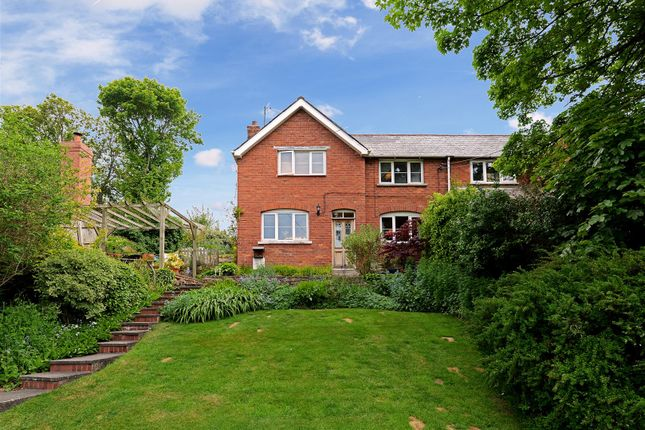 Thumbnail Semi-detached house for sale in Higher Road, Harmer Hill, Shrewsbury