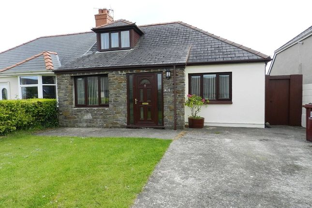 Thumbnail Semi-detached bungalow for sale in Langford Road, Johnston, Haverfordwest