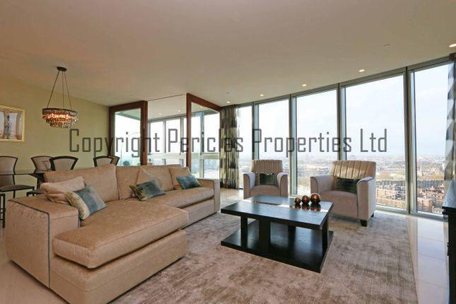 Thumbnail Flat to rent in The Tower One St George Wharf, London