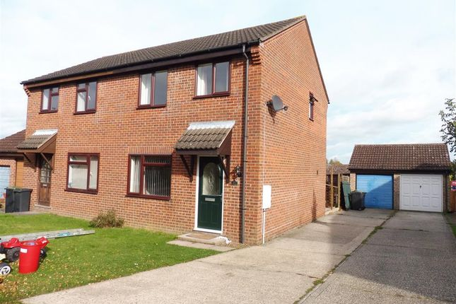 Thumbnail Semi-detached house to rent in Wheatfields, Rickinghall, Diss