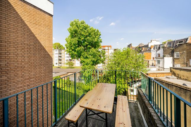Terrace of Royal College Street, Camden, London NW1