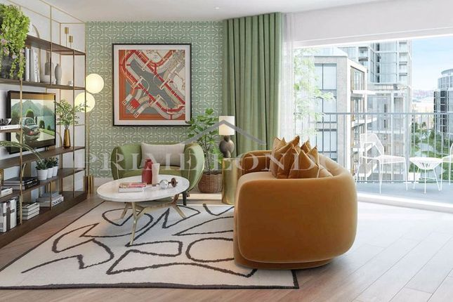 Thumbnail Flat for sale in Westwood House, Chelsea Creek, London