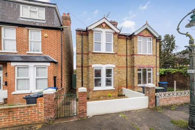Thumbnail Semi-detached house for sale in Norfolk Road, Canterbury