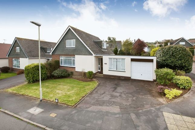 Thumbnail Detached bungalow for sale in Crowden Crescent, Tiverton