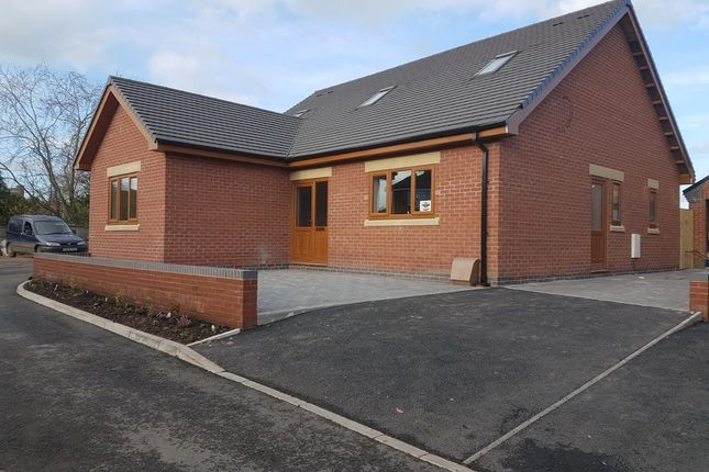 Thumbnail Detached bungalow for sale in The Armoury, Shropshire Street, Market Drayton