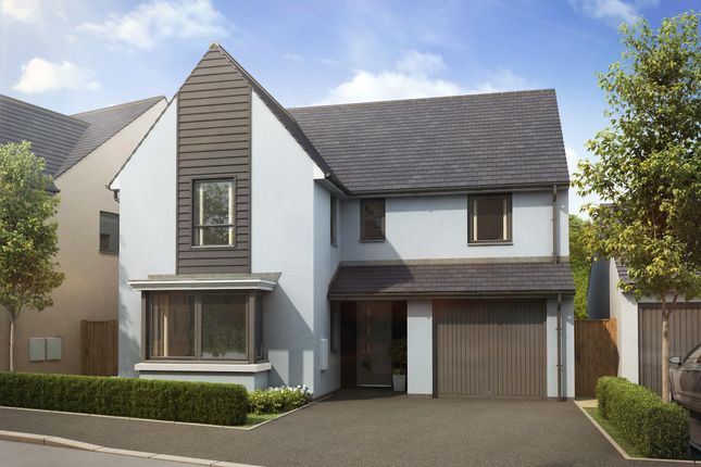 "Thumbnail Detached house for sale in ""Exeter"" at Church Close, Ogmore-By-Sea, Bridgend"