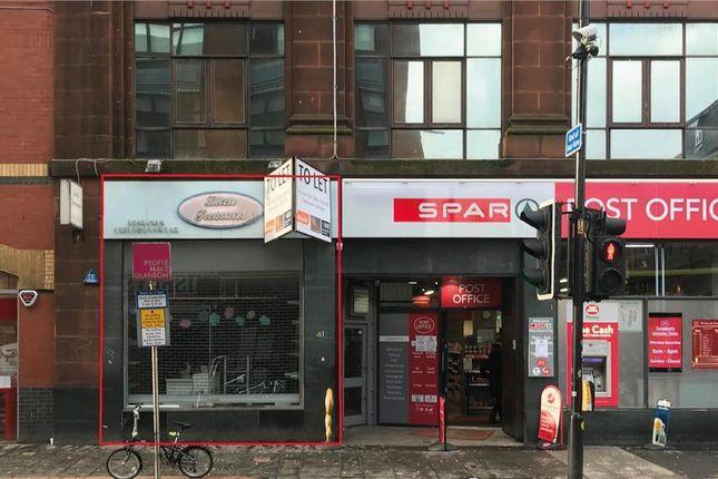 Thumbnail Retail premises to let in 41 Glassford Street, Glasgow