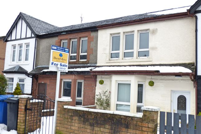 Thumbnail Terraced house for sale in Old Inverkip Road, Greenock