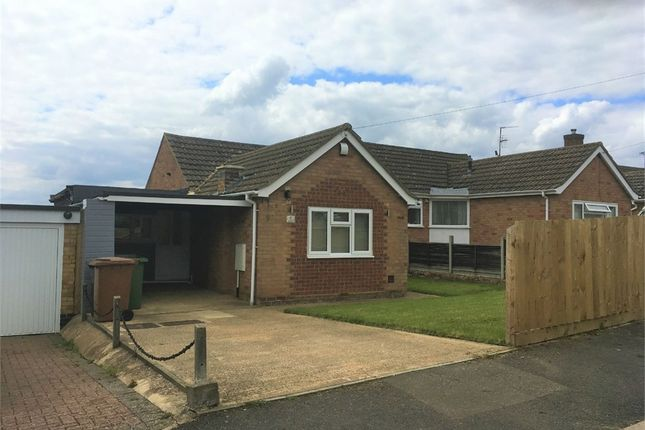 Thumbnail Semi-detached bungalow to rent in Scott Road, Wellingborough, Northamptonshire