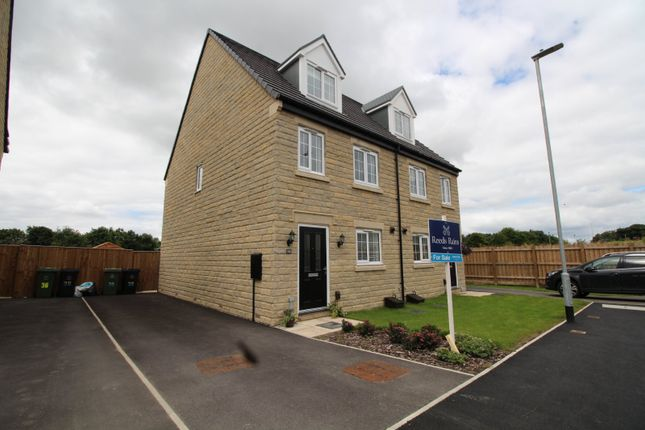Thumbnail Semi-detached house for sale in Blacksmith Way, Lindley, Huddersfield, West Yorkshire