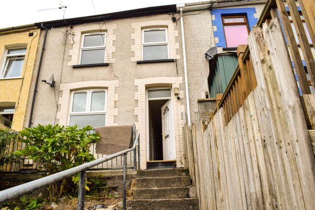 Thumbnail Terraced house to rent in Woodland Road, Pontygwaith