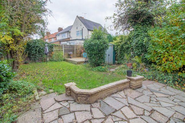 Garden At Back of College Street, Long Eaton, Nottingham NG10