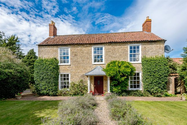 Thumbnail Detached house for sale in Highfield House, Branston Road, Canwick, Lincoln