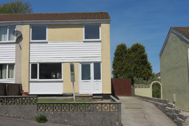 Thumbnail Semi-detached house for sale in Ashley Close, Penwithick, St. Austell