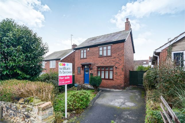Thumbnail Detached house for sale in Rutland Street, Old Whittington, Chesterfield