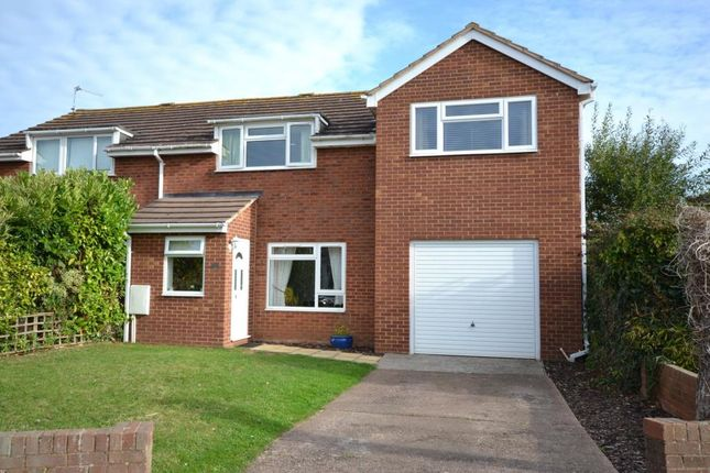 Thumbnail Semi-detached house for sale in Hooker Close, Budleigh Salterton, Devon