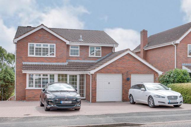Thumbnail Detached house for sale in Blackstitch Lane, Webheath, Redditch
