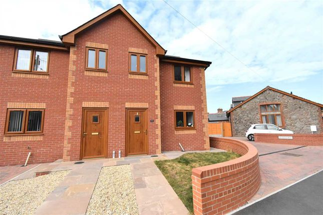 Thumbnail Semi-detached house for sale in Sudbrook, Caldicot