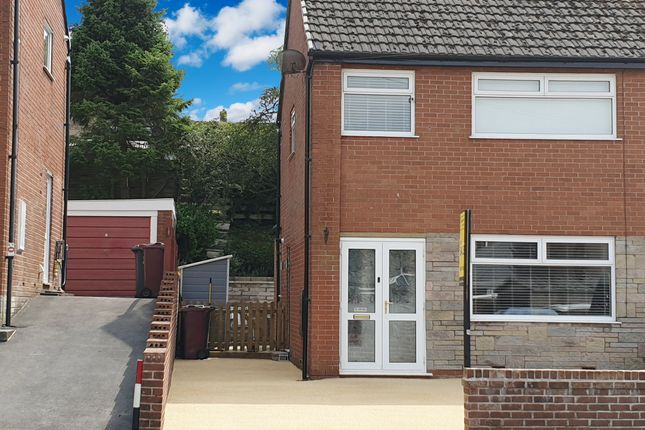 Thumbnail Semi-detached house for sale in Crosby Close, Whitehall, Darwen