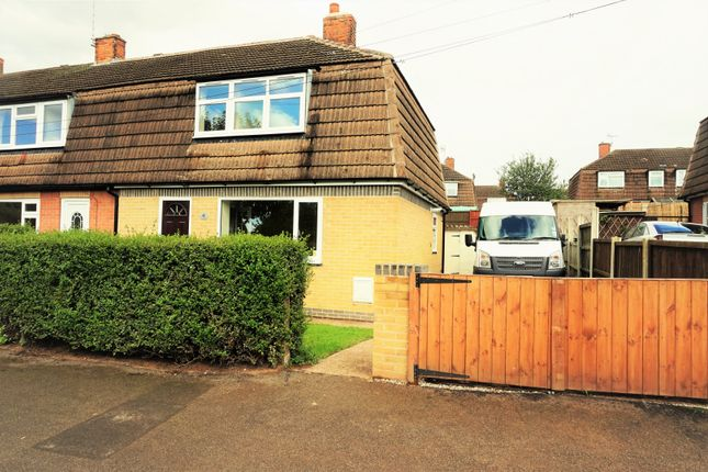 Thumbnail Semi-detached house for sale in New Road, Bilsthorpe