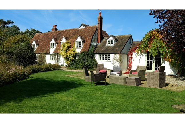 Thumbnail Detached house for sale in Finchingfield Road, Little Sampford, Saffron Walden