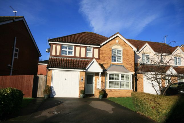 Detached house for sale in Mortons Bush, Wootton, Northampton