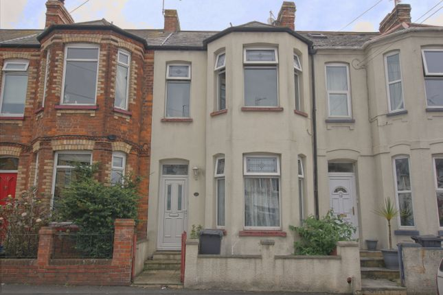3 bed terraced house for sale in Withycombe Road, Exmouth