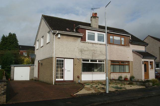 Thumbnail Semi-detached house to rent in Mansefield Crescent, Old Kilpatrick