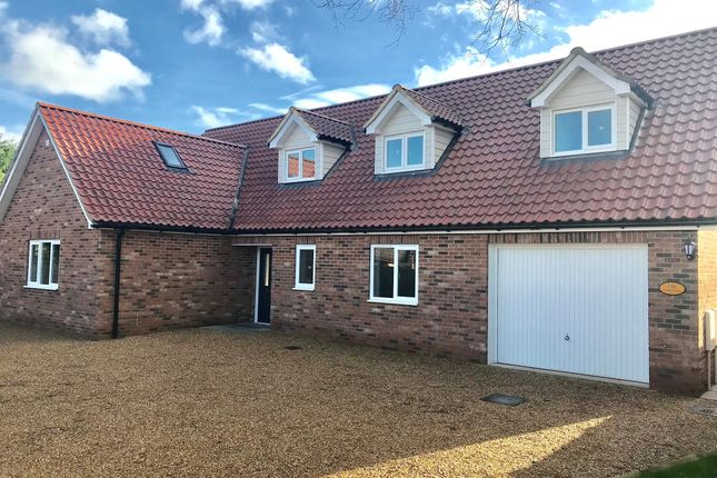 Thumbnail Detached house for sale in Field Close, Beyton, Bury St. Edmunds