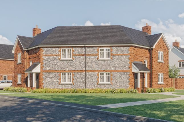 Thumbnail Semi-detached house for sale in Burndell Road, Yapton