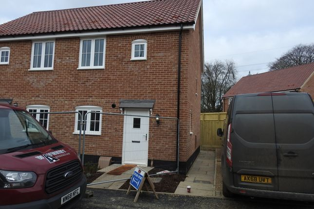 2 bed semi-detached house to rent in Oak Drive, Aldringham, Leiston IP16