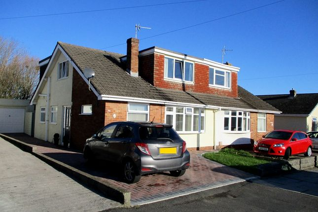 Thumbnail Semi-detached bungalow for sale in Rockfields, Porthcawl