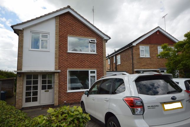 Thumbnail 3 bedroom detached house to rent in Lyncombe Gardens, Keyworth, Nottingham