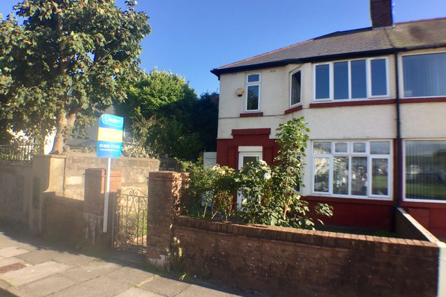 Thumbnail Semi-detached house to rent in Poplar Crescent, Porthcawl