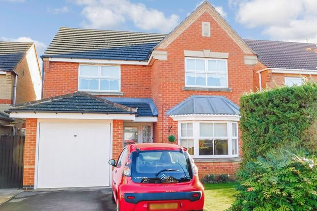 Thumbnail Detached house to rent in Tattershall Close, Barrowby Gate, Grantham